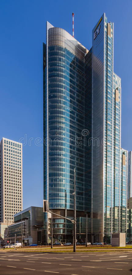 Πύργος Rondo ONZ στοκ φωτογραφία
