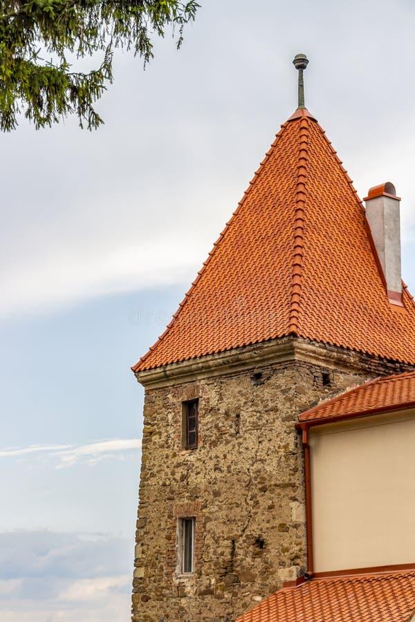 Πύργος Ropemakers Sighisoara στη Ρουμανία, Τρανσυλβανία στοκ φωτογραφία με δικαίωμα ελεύθερης χρήσης