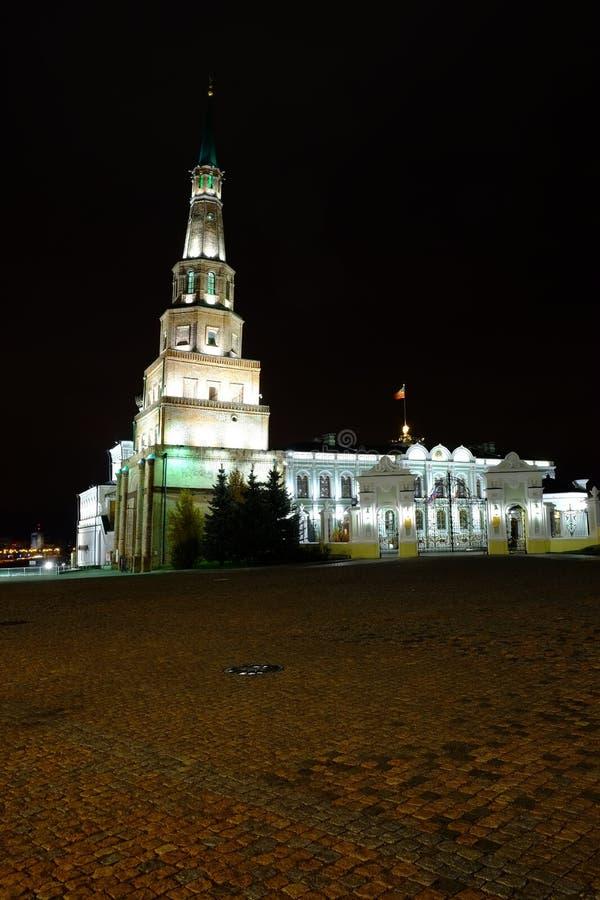 Πύργος Suyumbike, Kazan Κρεμλίνο, Kazan Ρωσία στοκ εικόνες