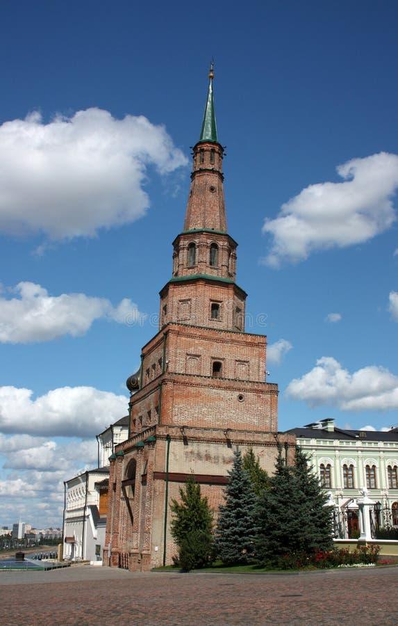 Πύργος Suyumbike Kazan Κρεμλίνο. στοκ φωτογραφία με δικαίωμα ελεύθερης χρήσης
