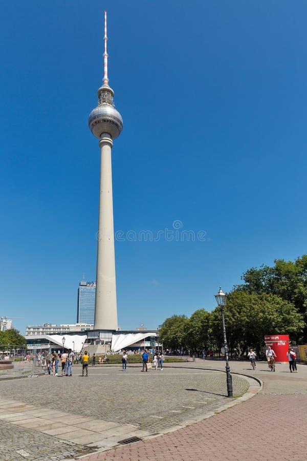 Πύργος TV του Βερολίνου στη Γερμανία στοκ εικόνες με δικαίωμα ελεύθερης χρήσης