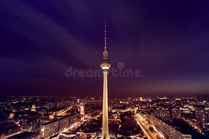 Πύργος TV του Βερολίνου στοκ φωτογραφία