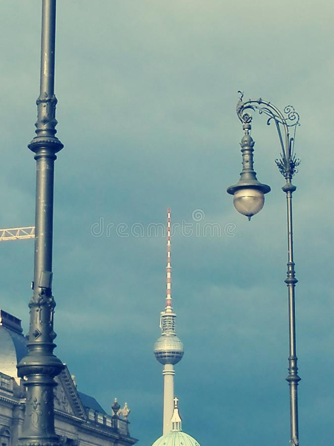 Πύργος TV του Βερολίνου στοκ εικόνες