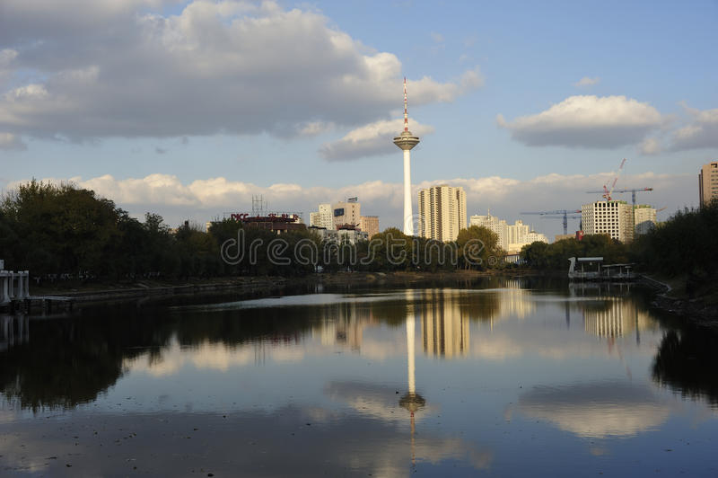 Πύργος TV Liaoning στοκ φωτογραφίες με δικαίωμα ελεύθερης χρήσης