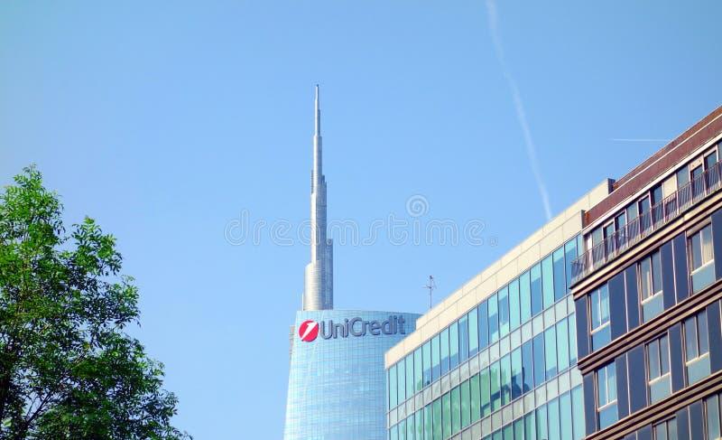 Πύργος Unicredit στοκ φωτογραφίες με δικαίωμα ελεύθερης χρήσης