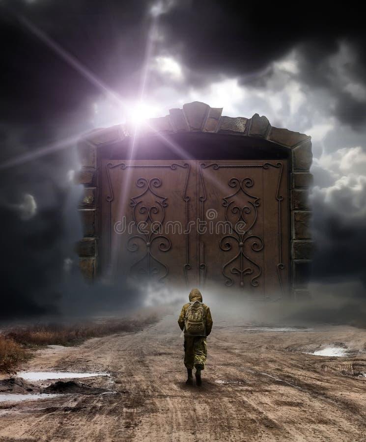 πύλες θεϊκές στοκ φωτογραφία