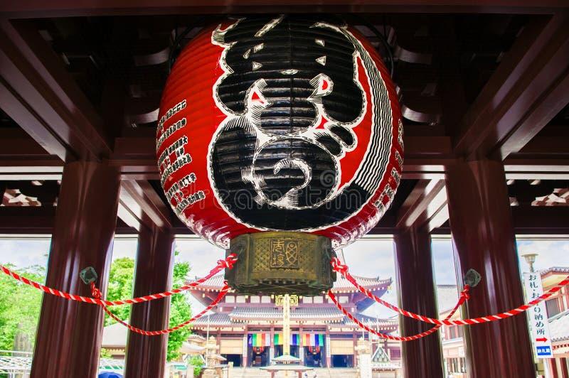 Πύλη εισόδων του ναού Kawasaki Daishi, Kawasaki, Ιαπωνία στοκ φωτογραφία