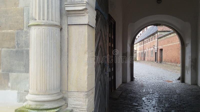 Πύλη 02 κάστρο του Frederiksborg στοκ εικόνα
