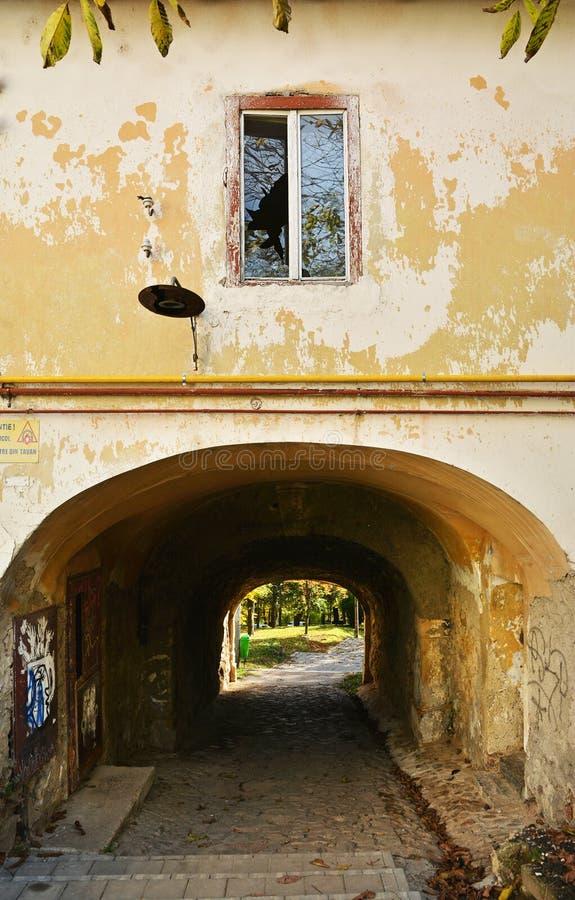 Πύλη νερού στο Hill Cetatuia φρουρίων στο Cluj Napoca στοκ φωτογραφίες με δικαίωμα ελεύθερης χρήσης