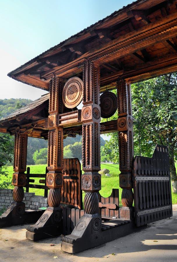 πύλη παραδοσιακή στοκ φωτογραφίες