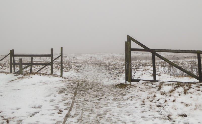 Πύλη πουθενά στοκ φωτογραφίες