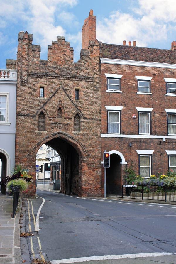 Πύλη στη Beverley στοκ φωτογραφία με δικαίωμα ελεύθερης χρήσης