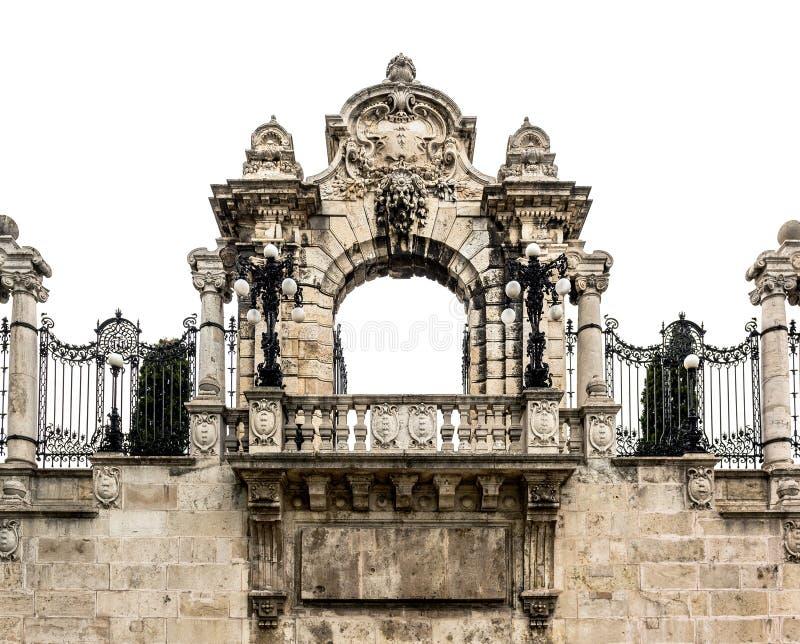 Πύλη στο Buda Castle στοκ φωτογραφία με δικαίωμα ελεύθερης χρήσης