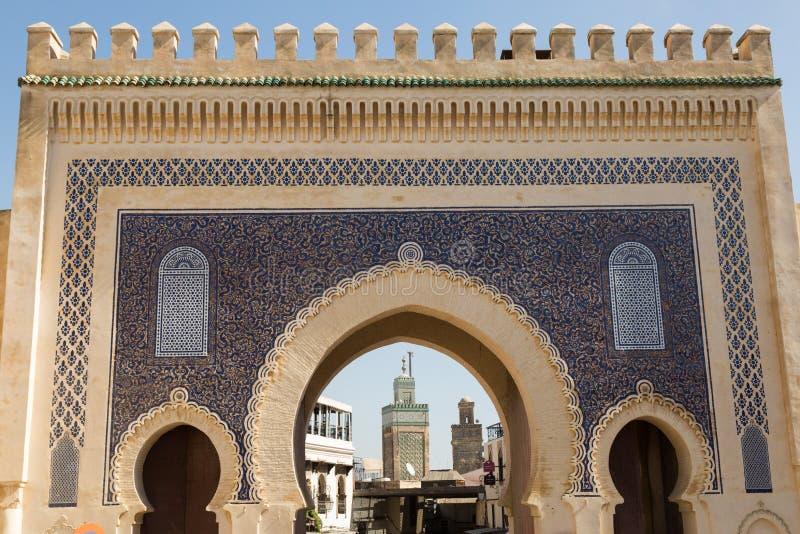 Πύλη στο Medina στοκ φωτογραφία με δικαίωμα ελεύθερης χρήσης