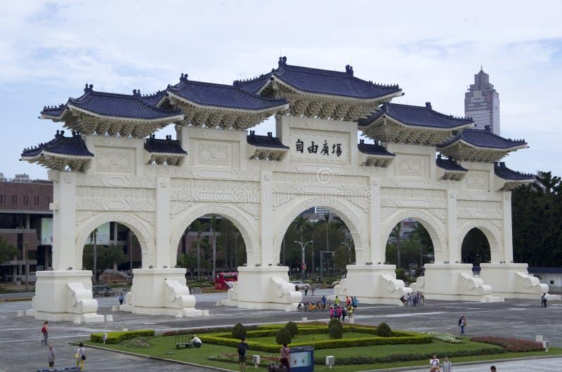 Πύλη Ταϊπέι ελευθερίας στοκ φωτογραφίες με δικαίωμα ελεύθερης χρήσης
