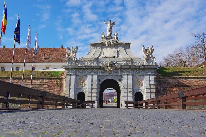 Πύλη της ακρόπολης στοκ φωτογραφία με δικαίωμα ελεύθερης χρήσης
