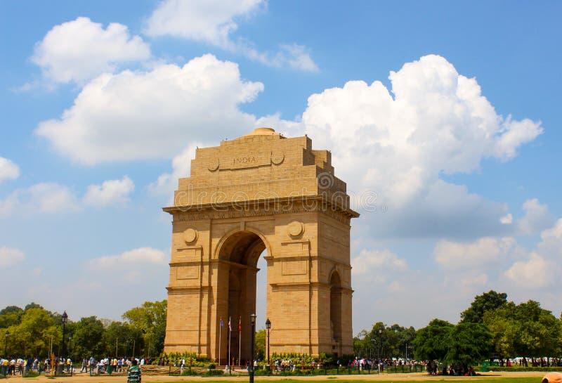 Πύλη της Ινδίας κάτω από τον ήλιο στοκ φωτογραφίες