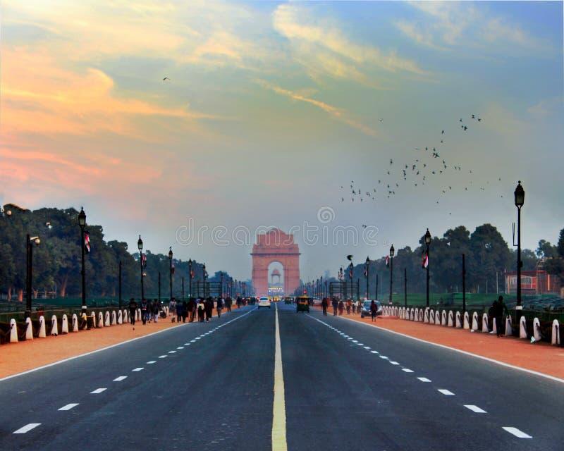 Πύλη της Ινδίας στοκ φωτογραφία