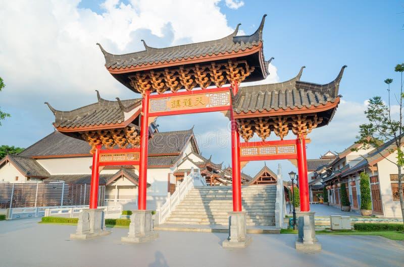 Πύλη της Κίνας στοκ εικόνα