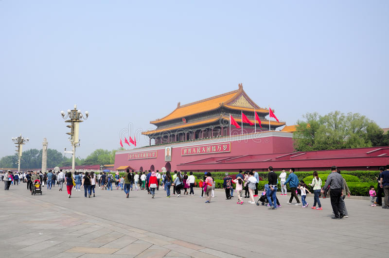 Πύλη της μεγάλης απαγορευμένης αρμονία πόλης στοκ φωτογραφία με δικαίωμα ελεύθερης χρήσης