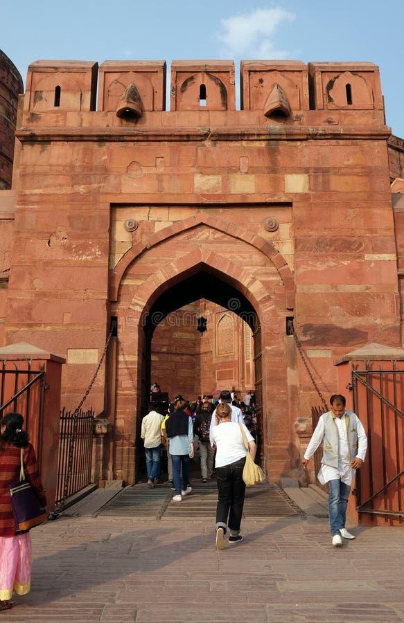 Πύλη του Αμάρ Σινγκ του οχυρού Agra στοκ εικόνα με δικαίωμα ελεύθερης χρήσης