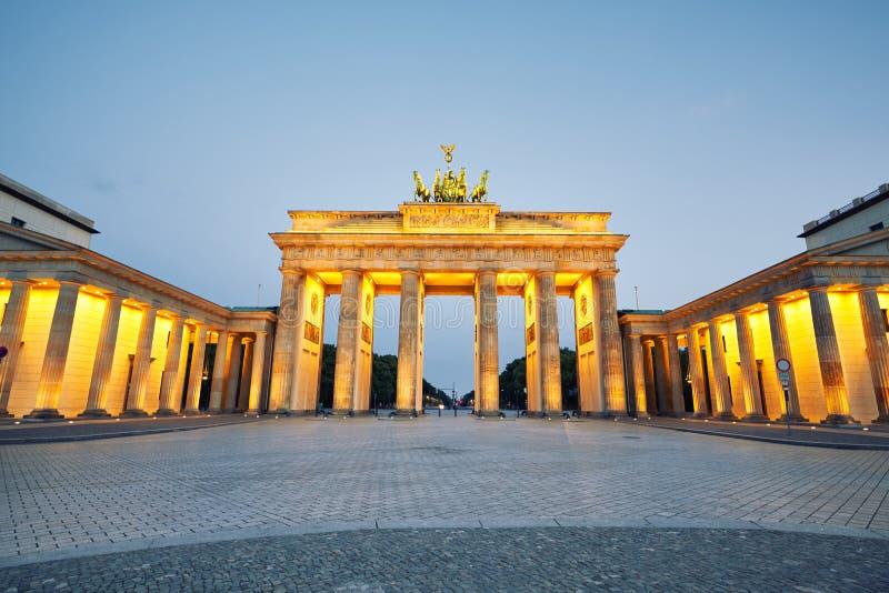 πύλη του Βραδεμβούργου στοκ εικόνα