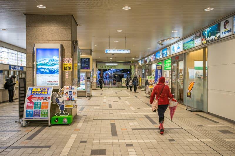 Πύλη του σταθμού Ιαπωνία του Toyama στοκ εικόνες