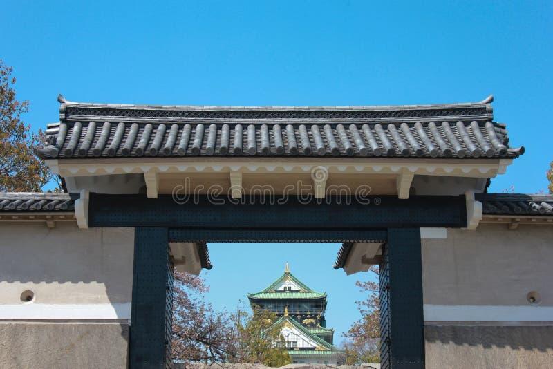 Πύλη του Castle στοκ εικόνες με δικαίωμα ελεύθερης χρήσης