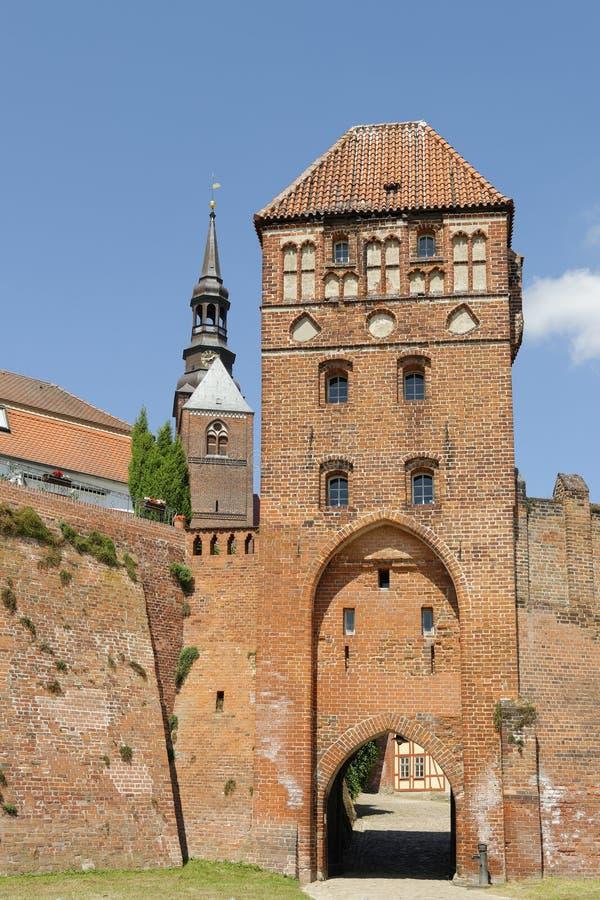 Πύλη Tangermuende στοκ εικόνα με δικαίωμα ελεύθερης χρήσης