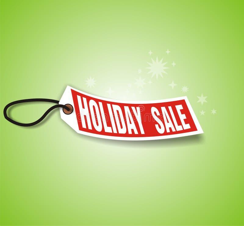 πώληση διακοπών Δεκεμβρί&omic διανυσματική απεικόνιση