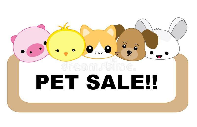 πώληση κατοικίδιων ζώων ελεύθερη απεικόνιση δικαιώματος