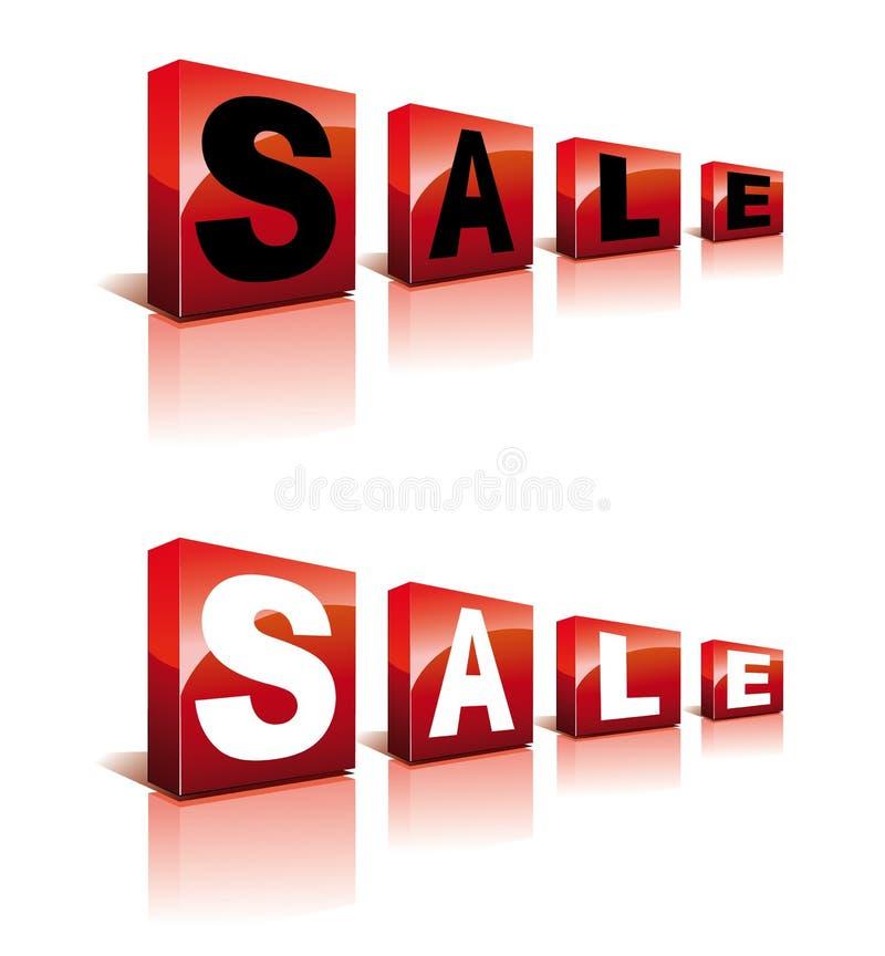 πώληση κύβων απεικόνιση αποθεμάτων