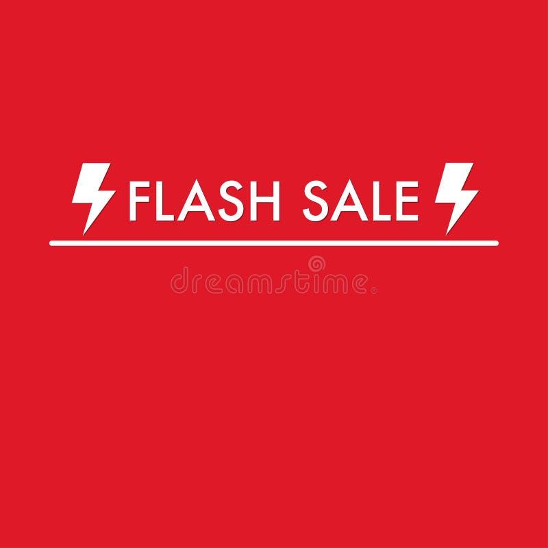 Πώληση λάμψης στην κόκκινη χλεύη υποβάθρου επάνω διανυσματική απεικόνιση