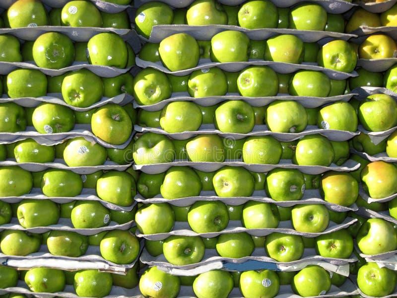 πώληση μήλων στοκ φωτογραφίες