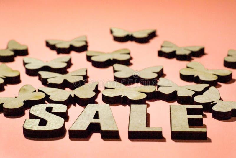 Πώληση, μια ημέρα των εραστών, πώληση φθινοπώρου στοκ φωτογραφία με δικαίωμα ελεύθερης χρήσης