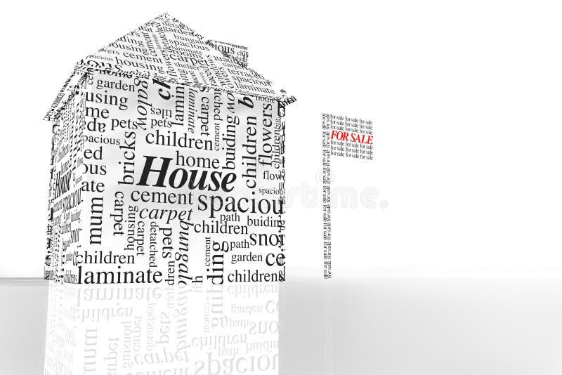 πώληση σπιτιών ελεύθερη απεικόνιση δικαιώματος