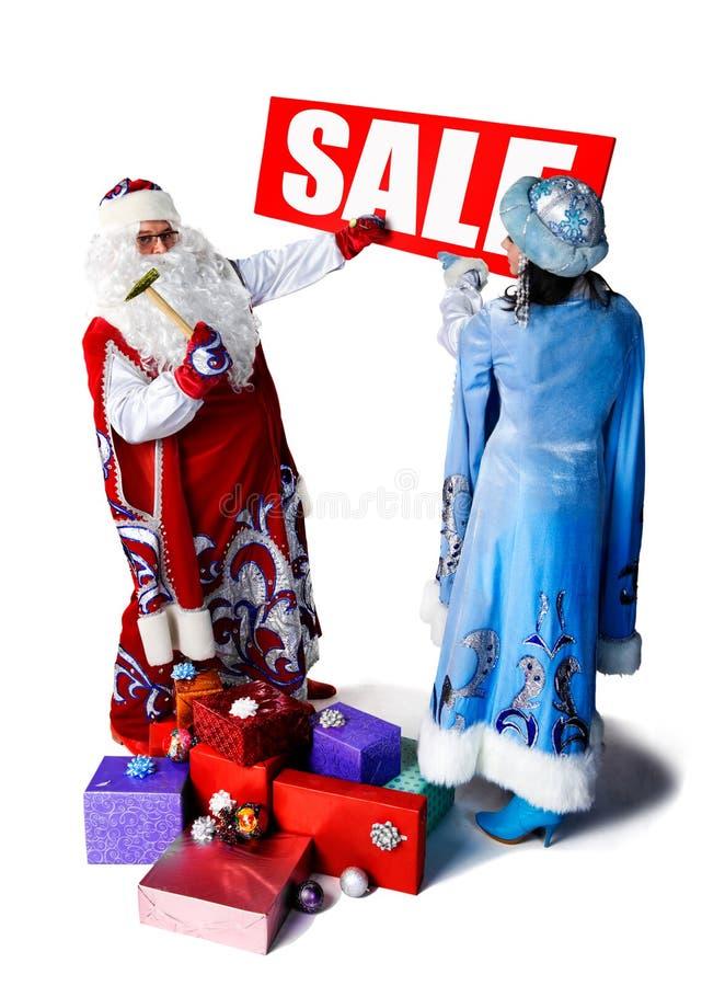 πώληση Χριστουγέννων στοκ εικόνα