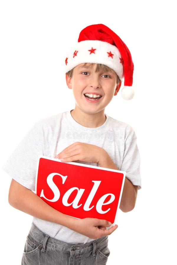 πώληση Χριστουγέννων στοκ εικόνα με δικαίωμα ελεύθερης χρήσης