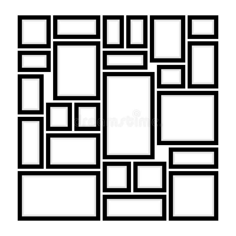 Πώς να διακοσμήσει τον τοίχο με τα πλαίσια απεικόνιση αποθεμάτων