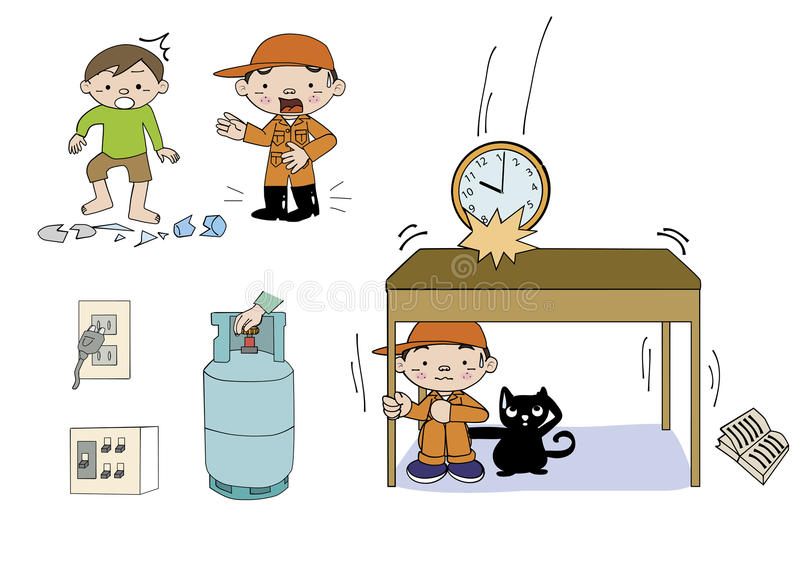 Πώς να εξετάσει την απεικόνιση έκτακτης ανάγκης διανυσματική απεικόνιση