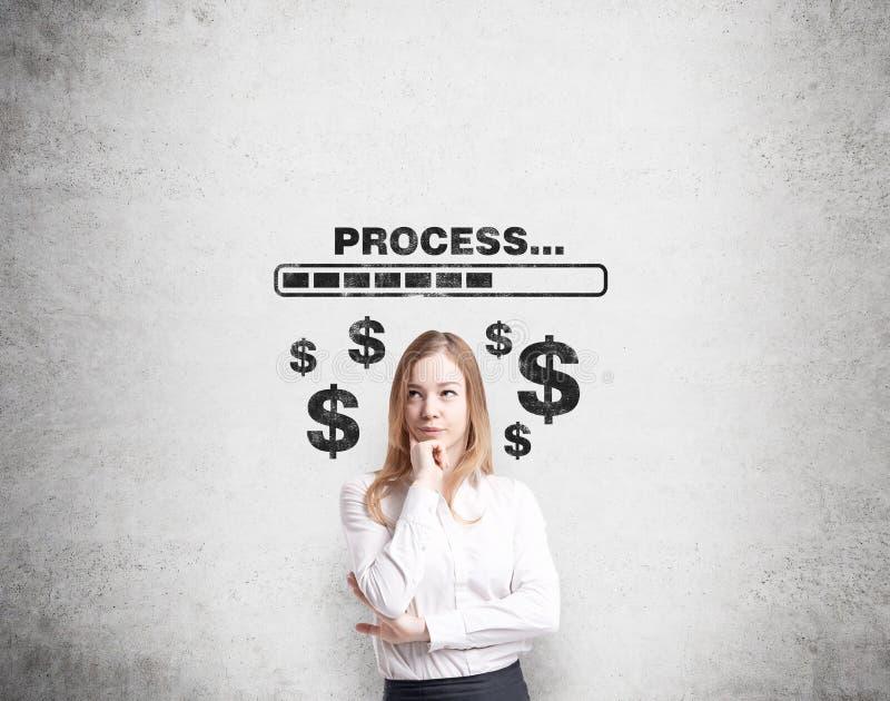 Πώς να κερδίσει τα χρήματα; στοκ εικόνες με δικαίωμα ελεύθερης χρήσης