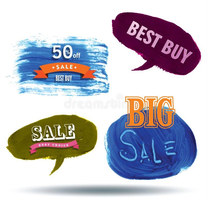 Πώληση λεκτικής σύστασης φυσαλίδων, ελεύθερη απεικόνιση δικαιώματος