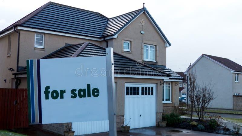 πώληση σπιτιών στοκ φωτογραφίες