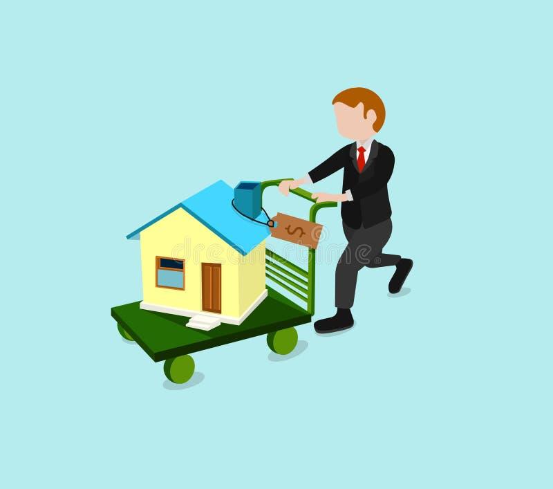 πώληση σπιτιών στοκ εικόνα με δικαίωμα ελεύθερης χρήσης