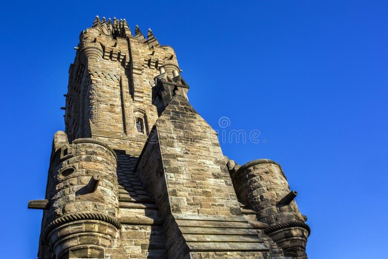 Πλάγια όψη του ορόσημου μνημείων Wallace στοκ φωτογραφίες με δικαίωμα ελεύθερης χρήσης