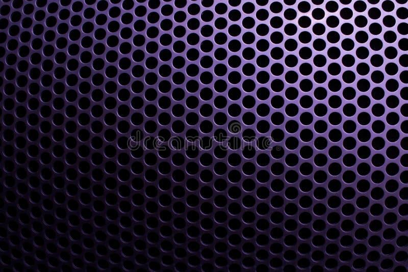 Πλέγμα χάλυβα με τις στρογγυλές τρύπες στοκ φωτογραφίες με δικαίωμα ελεύθερης χρήσης