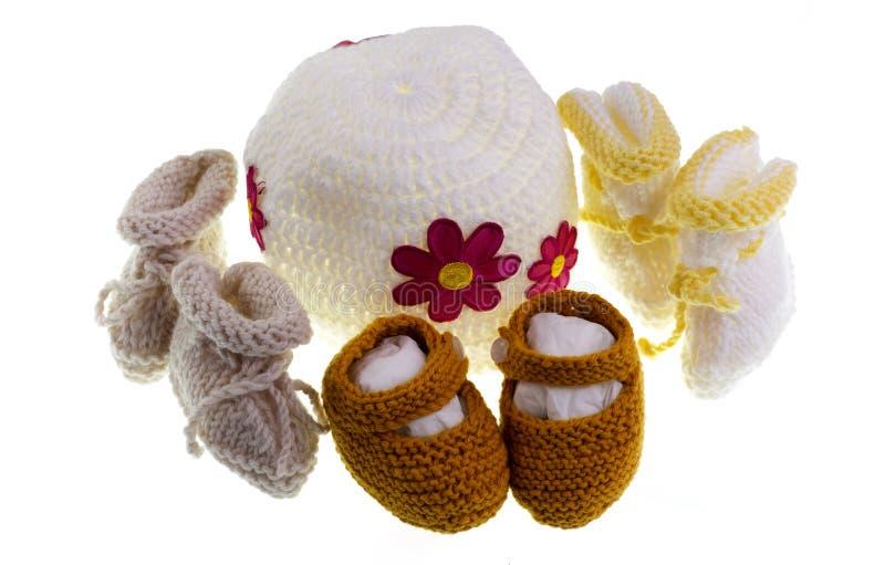 Πλέξιμο μωρών στοκ φωτογραφία με δικαίωμα ελεύθερης χρήσης