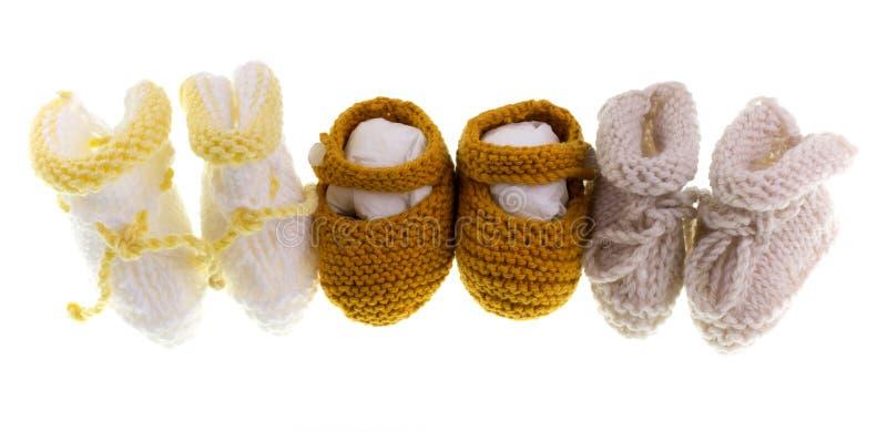Πλέξιμο μωρών στοκ φωτογραφίες με δικαίωμα ελεύθερης χρήσης