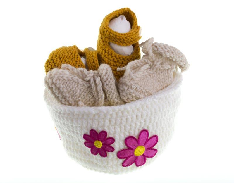 Πλέξιμο μωρών στοκ εικόνες με δικαίωμα ελεύθερης χρήσης