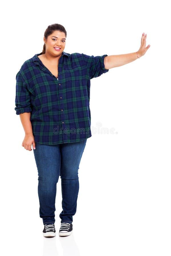 Συν τη γυναίκα μεγέθους στοκ εικόνες με δικαίωμα ελεύθερης χρήσης